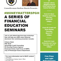 Pittsburgh City Councilor Darlene Harris launches financial literacy series
