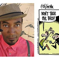 Cartoonist Keith Knight gives free presentation tonight at Pittsburgh's Point Park University