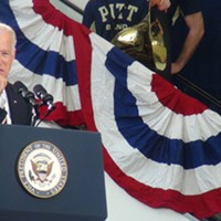 Vice President Joe Biden stops in Pittsburgh for anti-sexual assault campaign