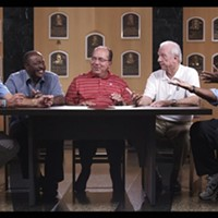 Recent baseball documentray Fastball screens at CMU, plus panel discussion