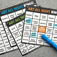 Play Art Bingo at Lawrenceville's Art All Night and win a City Paper prize pack