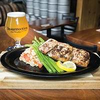 Insurrection AleWorks in Heidelberg offers lively beer and sandwiches