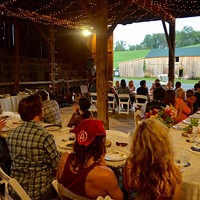 Frankferd Farms in Saxonburg is offering a summer series of dinners in its barn