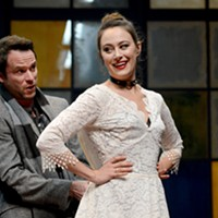 "Final week for ""Venus in Fur"" at Pittsburgh Public Theater"