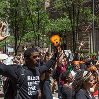 Black Lives Matter supporters gather for second march in Downtown Pittsburgh this weekend