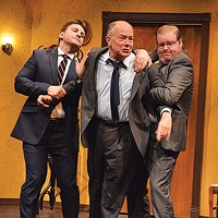 From left to right: Tom Kolos, Mark Yochum and Eric Mathews in The Summer Company's <i>Come Back, Little Sheba</i>
