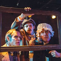 <i>The Hound of the Baskervilles</i> at Kinetic Theatre