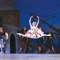 Hannah Carter in Pittsburgh Ballet Theatre's <i>Le Corsaire</i>
