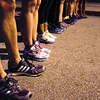 New running program gets local homeless-shelter residents active