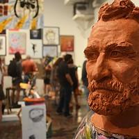 """Final Week for """"John Riegert"""" Exhibit (Featuring John Riegert) at Pittsburgh's SPACE Gallery"""
