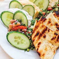 Pasha Café and Restaurant offers Turkish cuisine in style in a former Shadyside home