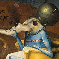 "Detail from Bosch's ""The Garden of Earthly Delights,"" circa 1494-1516 (Madrid Museo Nacional del Prado)"