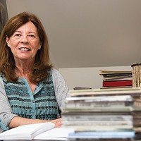 Calliope's executive director Patricia Tanner in her office