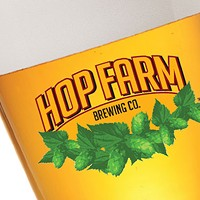 Hop Farm Provision with homegrown lime basil