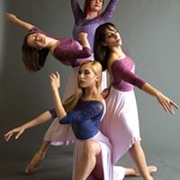 Texture Contemporary Ballet dancers perform in <i>Impulse</i>.