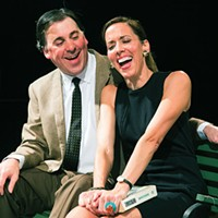 Greg Caridi and Mary Meyer in <i>Luv</i>, at Little Lake