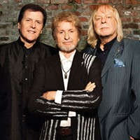 Left to right: Trevor Rabin, Jon Anderson and Rick Wakeman