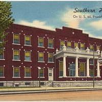 A postcard from The Southern Hotel