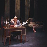 """<i>Diary of a Madman</i> and """"Poe's Last Night"""" at Metropolis Theater"""