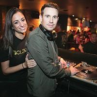 Adam and Nicole Kulik, winner of Best Couple and owners of The Goldmark, winner of Best New Bar; Adam, a.k.a. DJ Nugget, also won Best DJ.