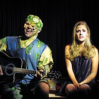 Evan Ruggiero and Katie Sexton in Pittsburgh CLO's <i>The Toxic Avenger</i>