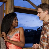 "Siovhan Christensen and Andrew William Smith in ""The River"""
