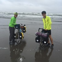 Bike tour highlighting climate change visits Pittsburgh on Sunday