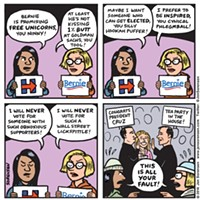 Our favorite Election 2016 comics from our weekly syndicated cartoonist Jen Sorensen