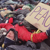 A 2003 anti-war protest