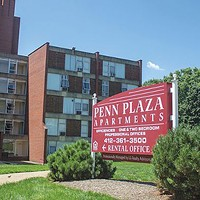 Penn Plaza Apartments in East Liberty, 2015