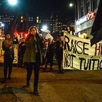 Two arrested during student-debt protest at University of Pittsburgh
