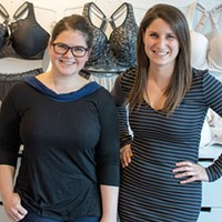 Laura West (left) and Sophia Berman, the co-founders of Trusst
