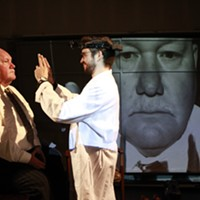 "Final week for ""The Man Who Mistook His Wife for a Hat"" at Quantum Theatre"