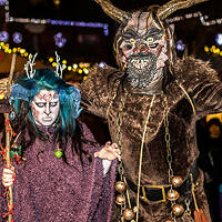 Pittsburgh celebrates Krampusnacht in Market Square