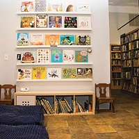 White Whale Bookstore's new childrens' book section