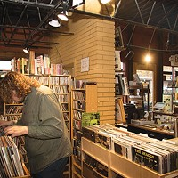 Caliban Book Shop offers an in-house record store.