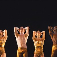 Performers in Contemporary Dance Company's <i>Ballet Off-Center </i>