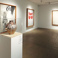 Installation view of <i>Andy Warhol | Ai Weiwei</i> at The Andy Warhol Museum
