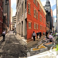 Downtown Pittsburgh's Strawberry Way named  favorite 'Street Transformation'