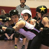 Steel City Roller Derby in action