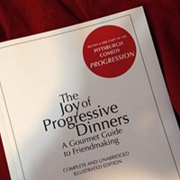 A longtime progressive dinner inspires a how-to book