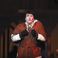 Quinn Patrick Shannon in <i>The Hunchback of Notre Dame</i>, at Pittsburgh Musical Theater