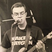 Karl Hendricks at Lollapalooza '93