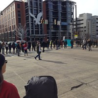 Protesters block South Side intersection to decry Pittsburgh-area deportations