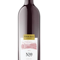N39 Chambourcin, Merlot & Cab Franc blend, Knob Hall Winery