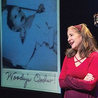 Ann Talman in <i>Woody's Order</i>, at The REP