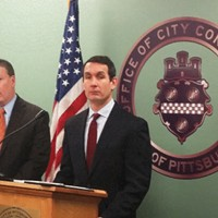 Pittsburgh City Controller Michael Lamb (left) and Pennsylvania Auditor General Eugene DePasquale (right)