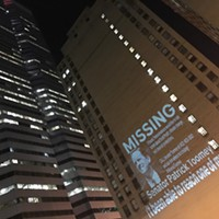 Sierra Club steps up the search for 'missing' Sen. Pat Toomey with downtown protest