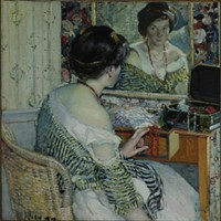 "Richard E. Miller's 1915 painting ""Reflection"" is part of <i>The Stories You Tell.</i>"