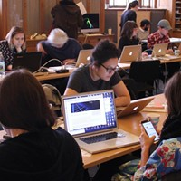 2016 Art+Feminism Edit-A-Thon at Carnegie Mellon University